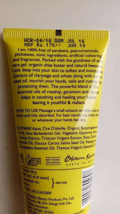 Blossom Kocchar Aroma Magic Nourishing Hand Cream (3).jpg