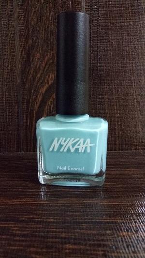 Nykaa Pastel Nail Enamel Blue Lime Slush No 66.jpg