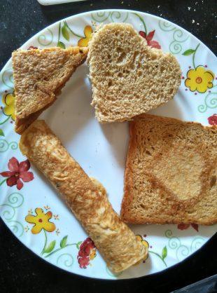 Egg Oats Platter  @Foodtravelandmakeup.com
