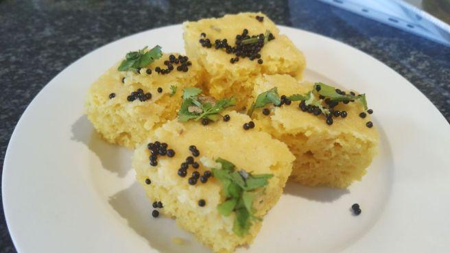 foodtravelandmakeup Gujrati Snack Khaman Dhokla