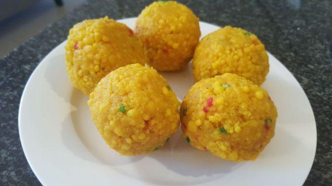 foodtravelandmakeup Indian Sweet Boondi ke Laddu